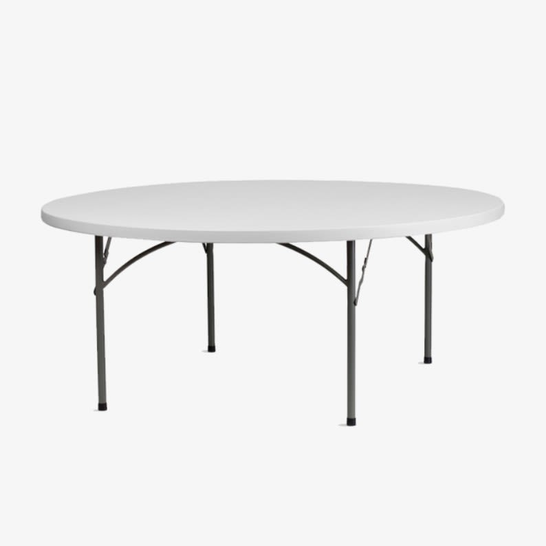 "72"" Round Folding Table"