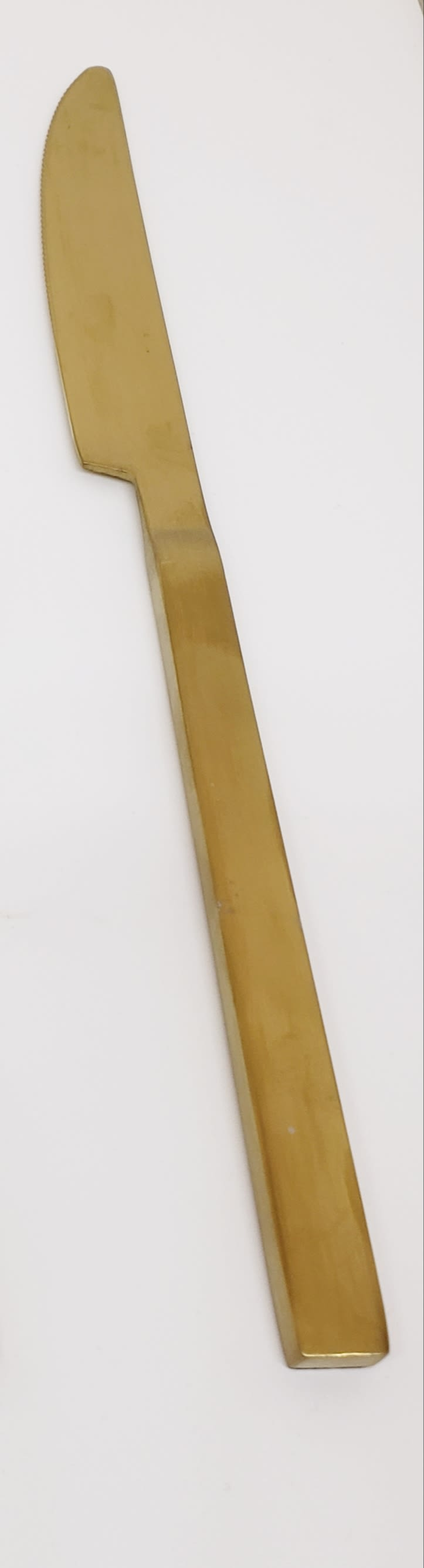 Gold Dinner Knife