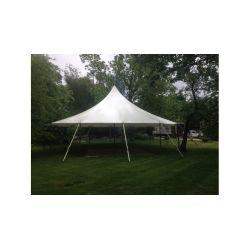 32x30 Woodgrain Sailcloth Style Tent