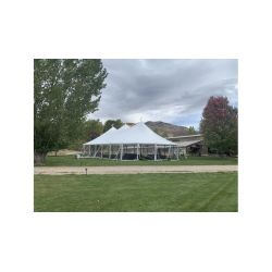 51x91 Woodgrain Sailcloth Style Tent