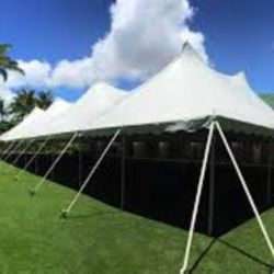 60x130 Twin Center Pole Tent
