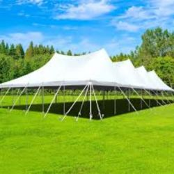 60x90 Twin Center Pole Tent