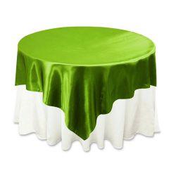 Clover Green Satin Overlay