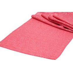 Coral Sequin Table Runner