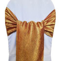 Gold Taffeta Sashes