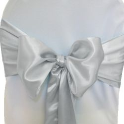 Grey Satin Sashes