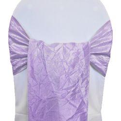 Lavender Taffeta Sashes