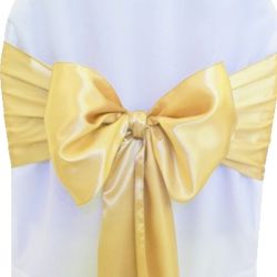 Lemon Satin Sashes