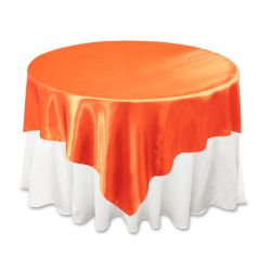 Orange Satin Overlay