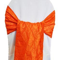Orange Taffeta Sashes