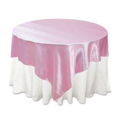 Pink Satin Overlay
