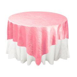 Pink Taffeta Overlay