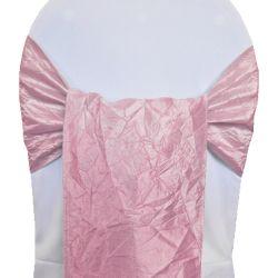 Pink Taffeta Sashes