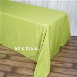 Rectangle Apple Green Tablecloth