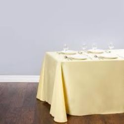 Rectangle Butter Tablecloth