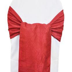 Red Taffeta Sashes