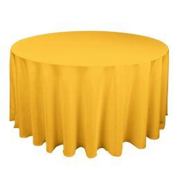 Round Marigold Table Cloth