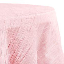 Round Pink Accoridon Table Cloth