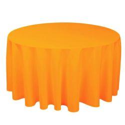 Round Pumpkin Table Cloth