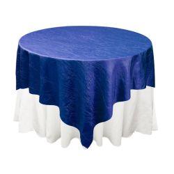 Royal Blue Taffeta Overlay