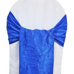 Royal Blue Taffeta Sashes