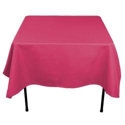 Square Fuchsia Table Cloth