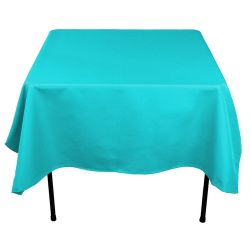 Square Turquoise Table Cloth