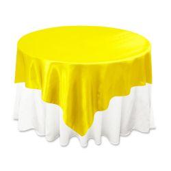 Yellow Satin Overlay