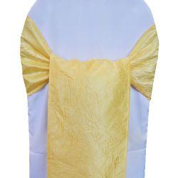 Yellow Taffeta Sashes