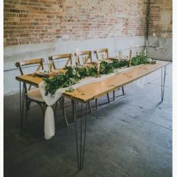 Boho Rustic farmhouse table
