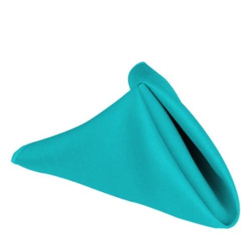 """17"""" Poly Napkin Turquoise"""