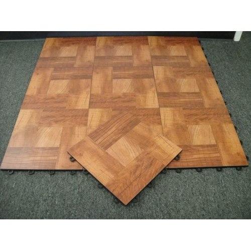 Portable Dance Floor-Wood