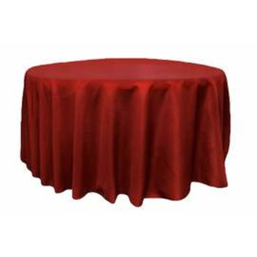Round Apple Red Tablecloth