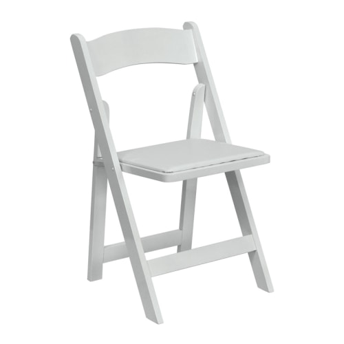 White Wedding Chair