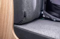 Sicherheit geht auch im Wohnmobil vor - Isofix an der Sitzbank.