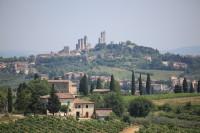 San Gimigniano - die Stadt der Geschlechtertürme ist ein Highlight auf jeder Toskana - Reise mit dem Wohnmobil...