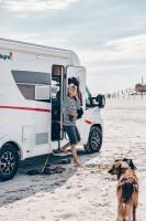 Bei uns können Sie auch ein Wohnmobil mieten und Haustiere mitnehmen.