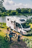 Ob zu zweit, zu dritt oder zu viert - mit dem Wohnmobil Sunlight T 69 ist ein schöner Campingurlaub garantiert.