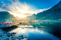 In Finnland laden die Fjorde mit ihren malerischen Dörfern zum verweilen ein...