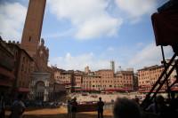 Auch Siena ist ein Muss für eine Wohnmobilreise in der Toskana...