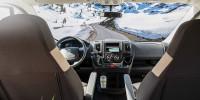 Übersichtlich, alles im Blick - das Cockpit im Carado V337 ist funktionell und bietet unterwegs herrliche Ausblicke...