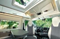 Chausson 594 - Sitzgruppe für 4 Personen dank drehbarer Wohnmobilsitze