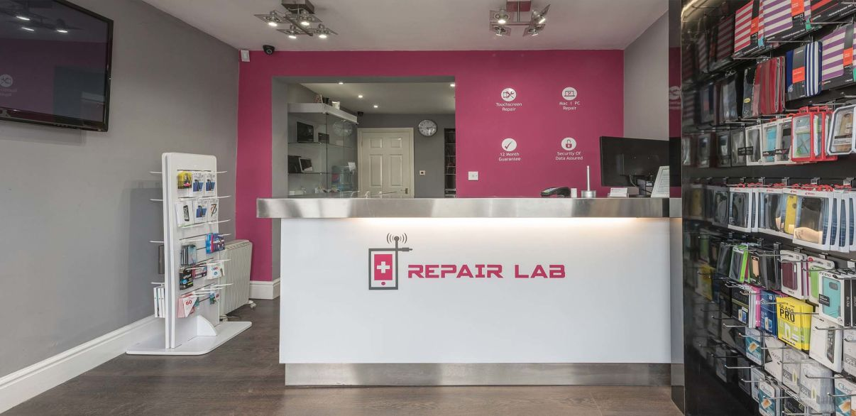 Repair Lab Store Interior