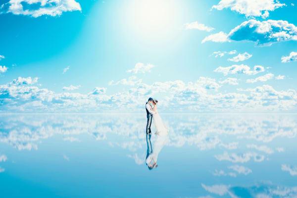 【ウユニ】ジャパンウェディングフォトグランプリ3位入賞作品