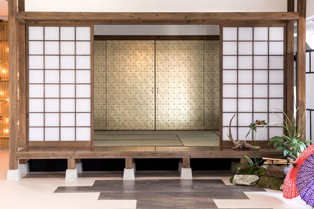 [屋内庭園]上品な横浜市内の街並みを完全再現した、こだわりのスペース