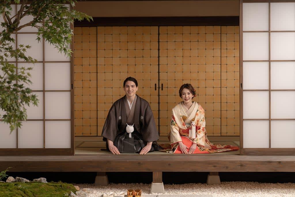 日本庭園のような茶室を再現した屋内庭園スタジオ