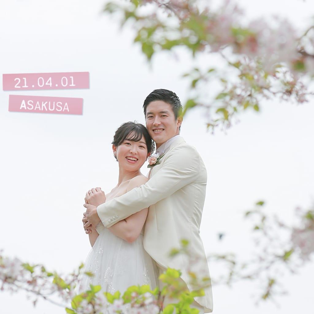 浅草周遊・桜とスカイツリー