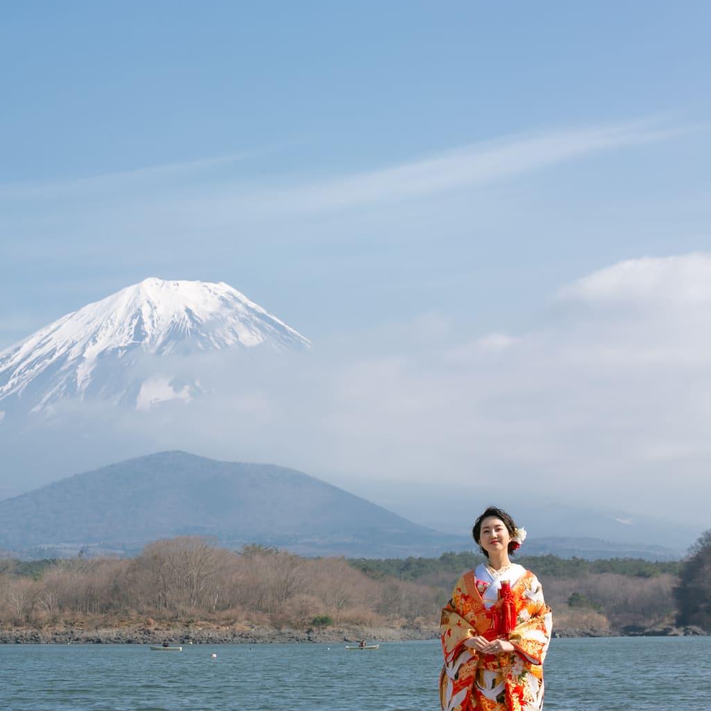 季節を感じて、富士。