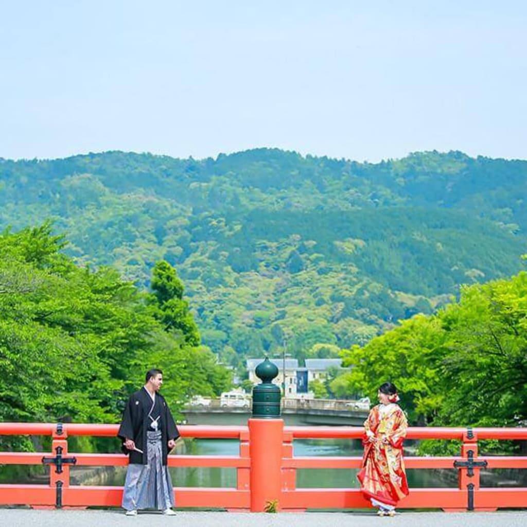 京都の街を散歩しながら