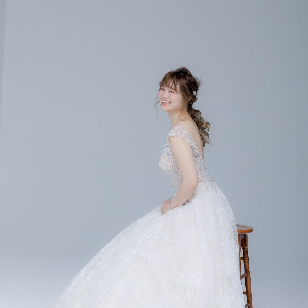 新作ウェディングドレス◎【Aライン】